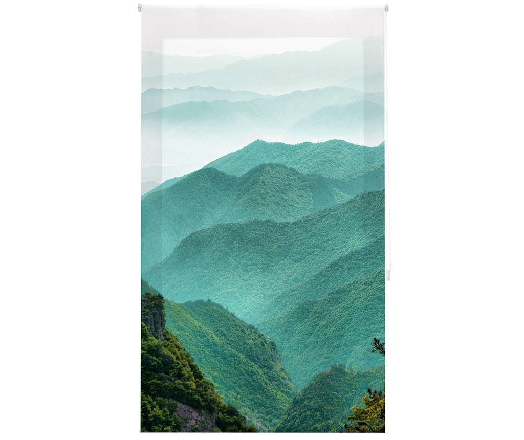 Jaluzea tip rulou Mountain Path 140x250 cm