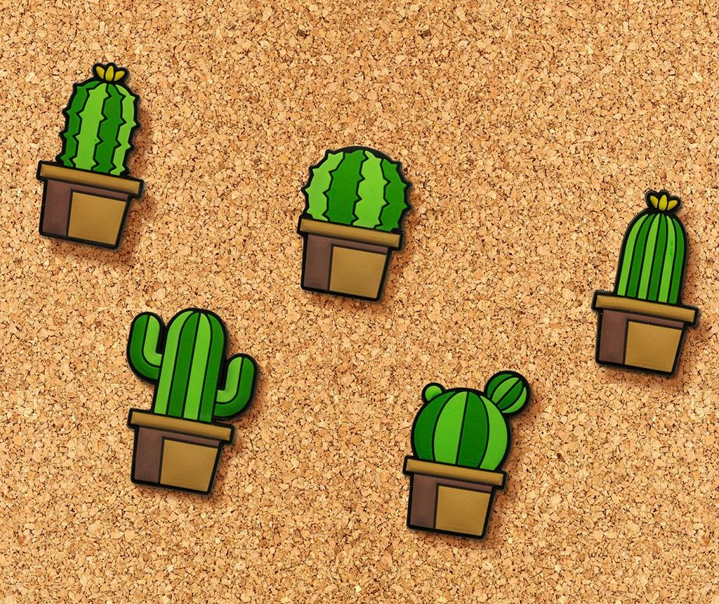 Cactus Push Pin 5 db Rajzszög