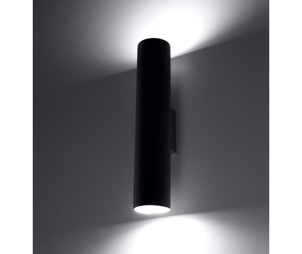 Stenska svetilka Castro Black