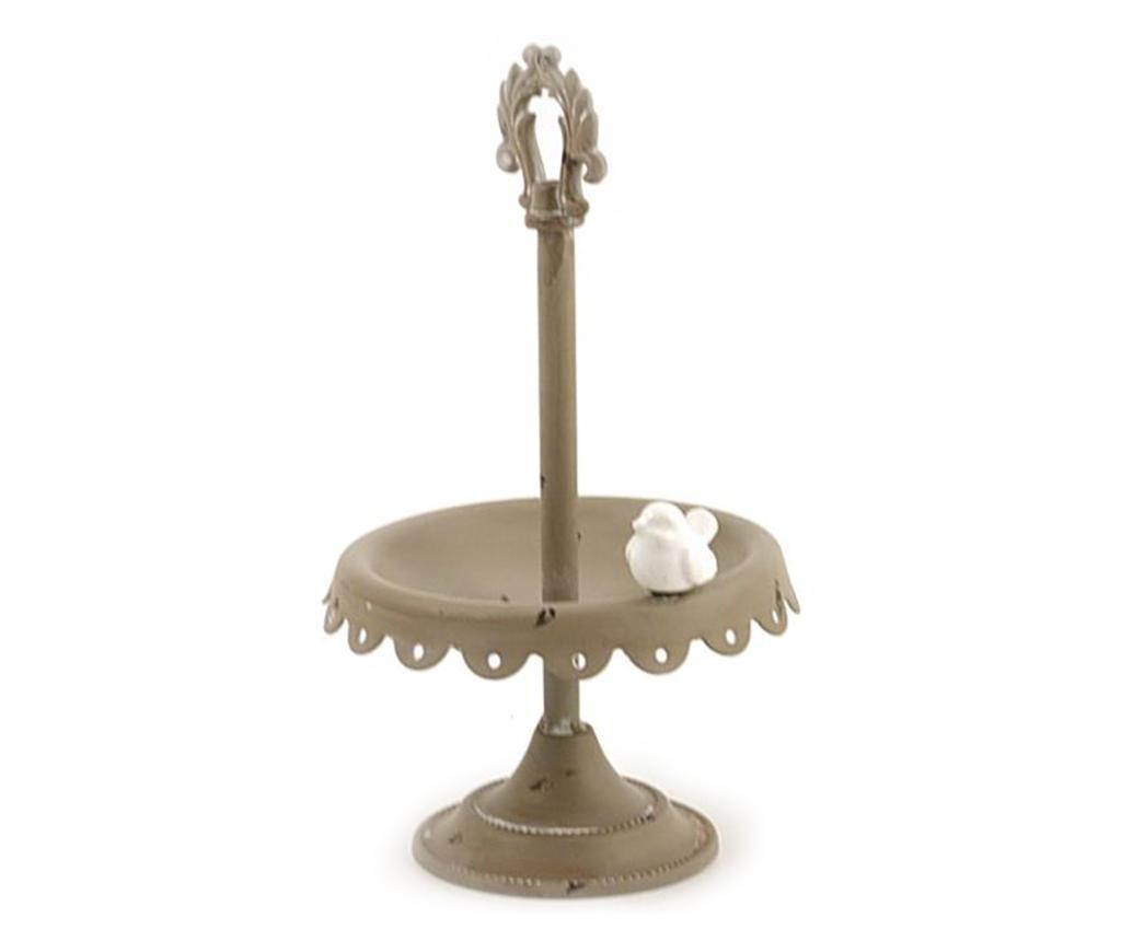 Platou decorativ cu picior Little Bird