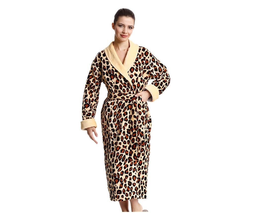Halat de baie dama Valery Leopard L