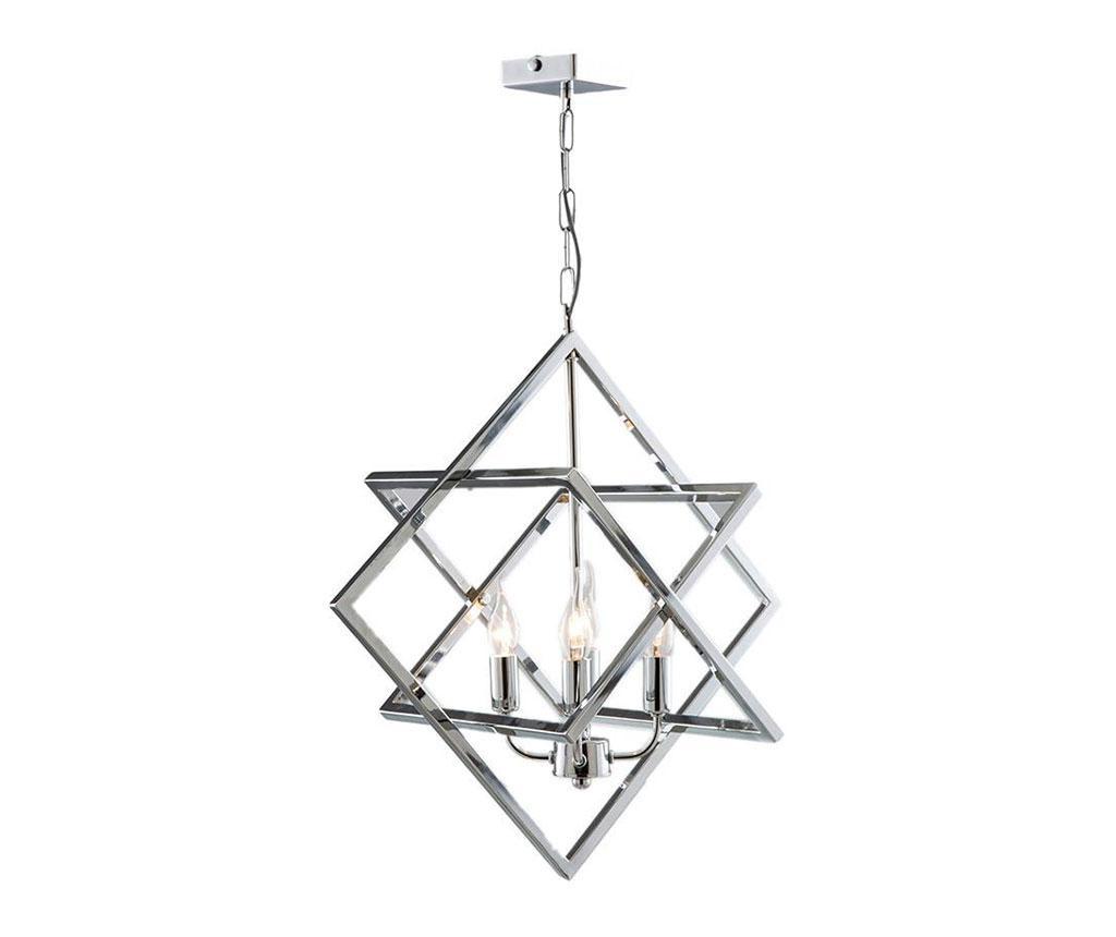 Závěsná lampa Rita Chrome