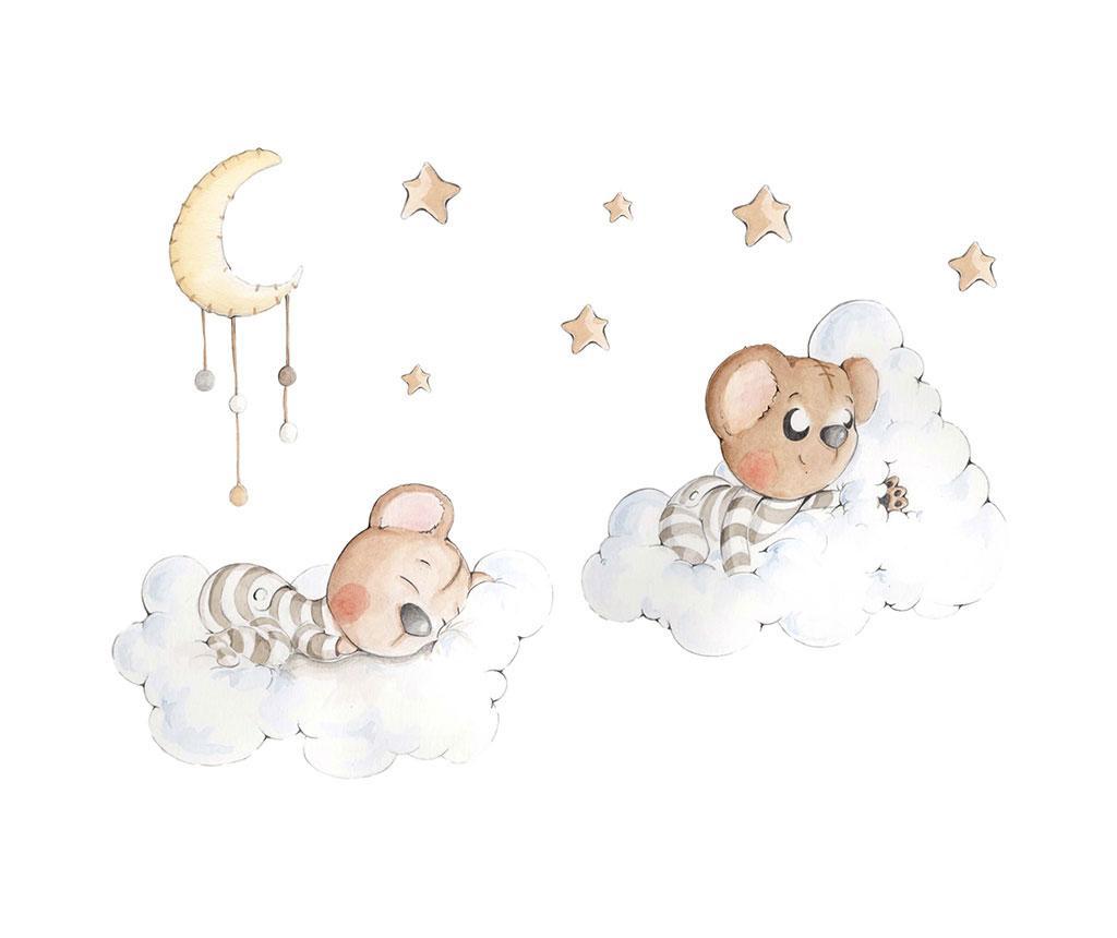 Samolepka Dreaming Between Clouds