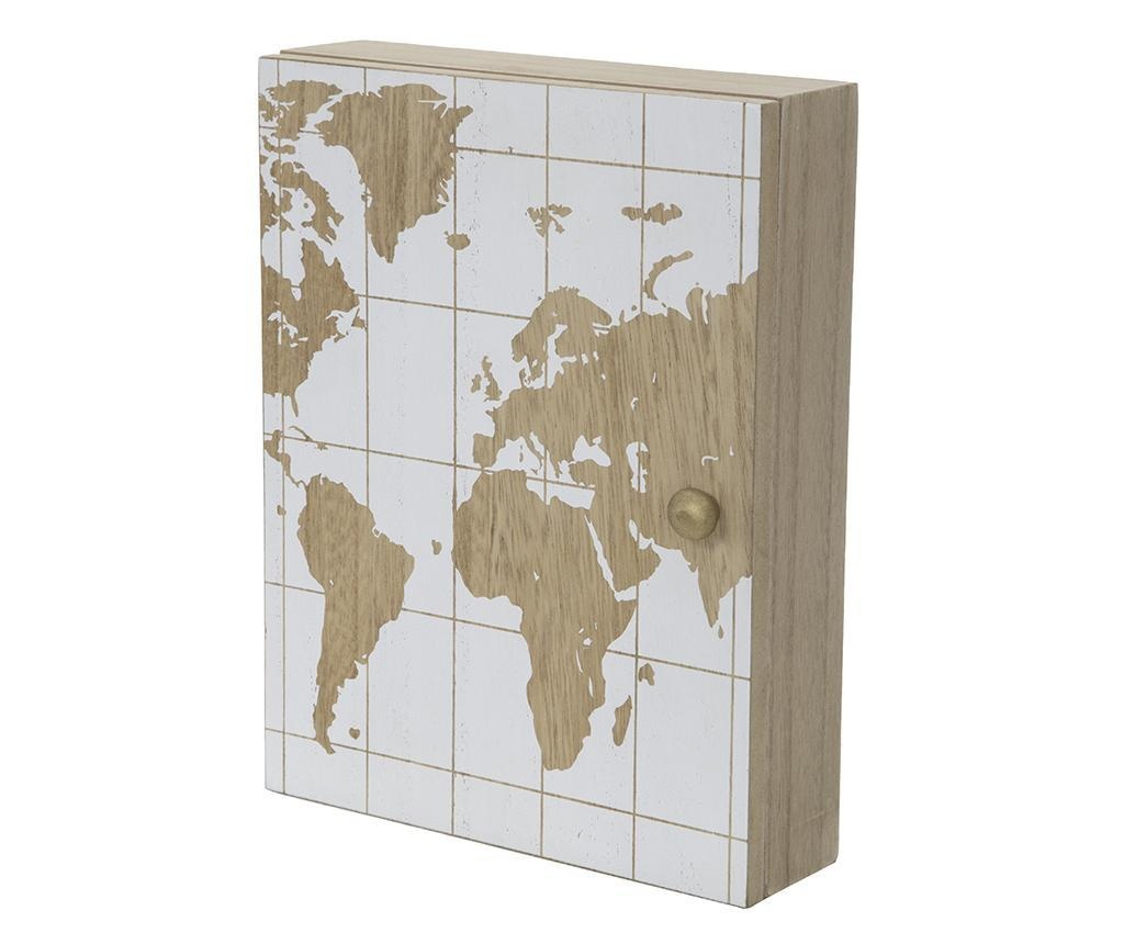 White World Kulcstartó szekrényke