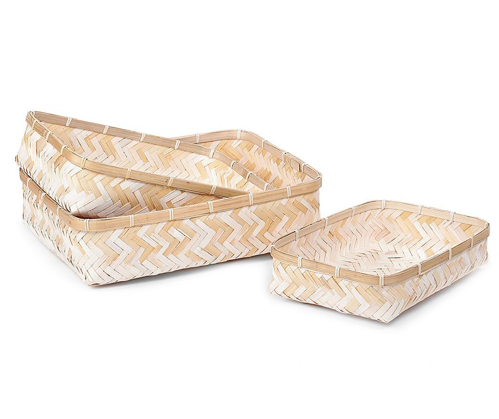 Set 3 cosuri Bamboo Simep