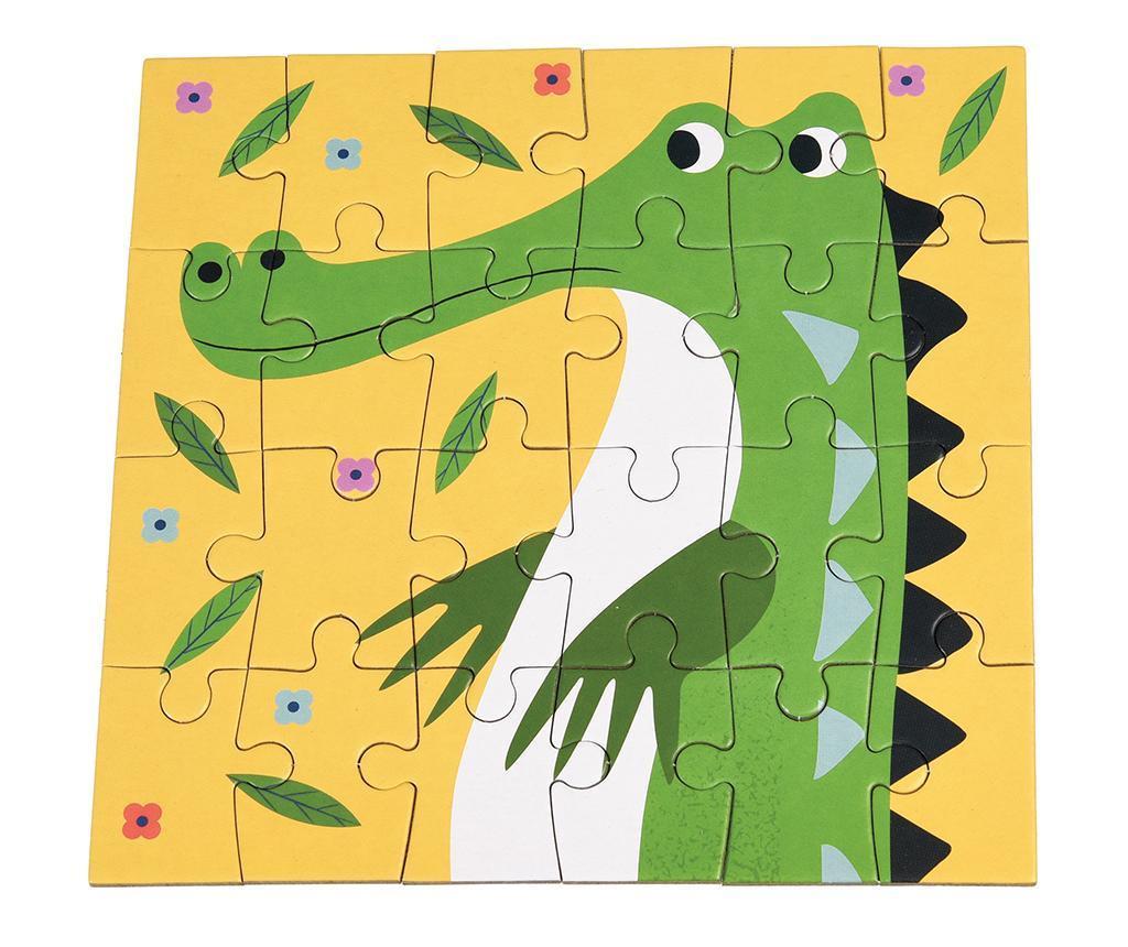 Puzzle 24 piese Crocodile