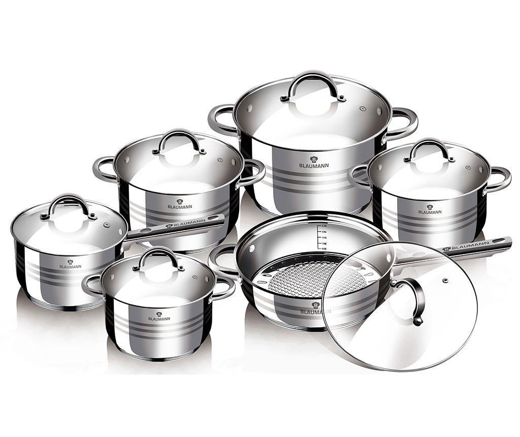 Gourmet 12 darabos Főzőedény készlet
