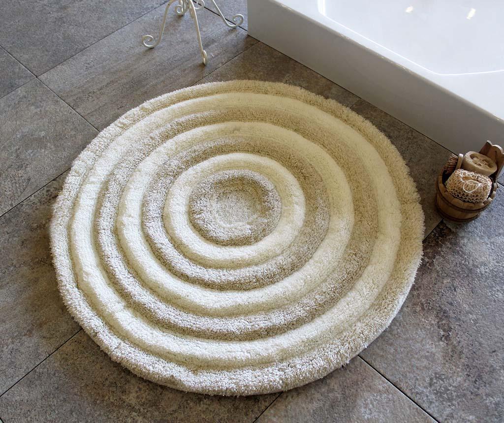 Alessia Ecru Fürdőszobai szőnyeg 90 cm