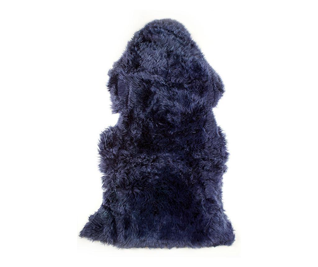 Wełna owcza Leedo Dark Blue 60x120 cm