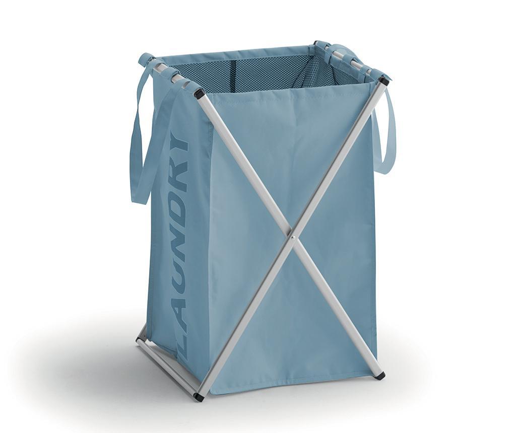 Skládací koš na prádlo Adon Blue