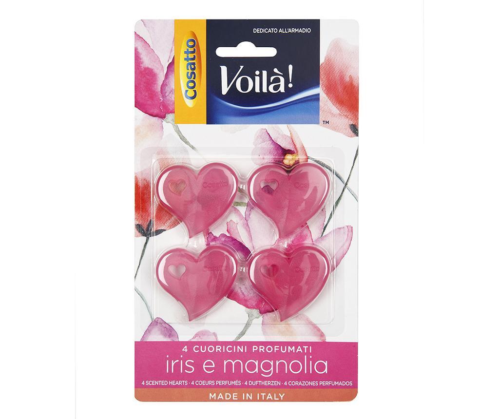Set 4 odorizante pentru dulap Magnolia