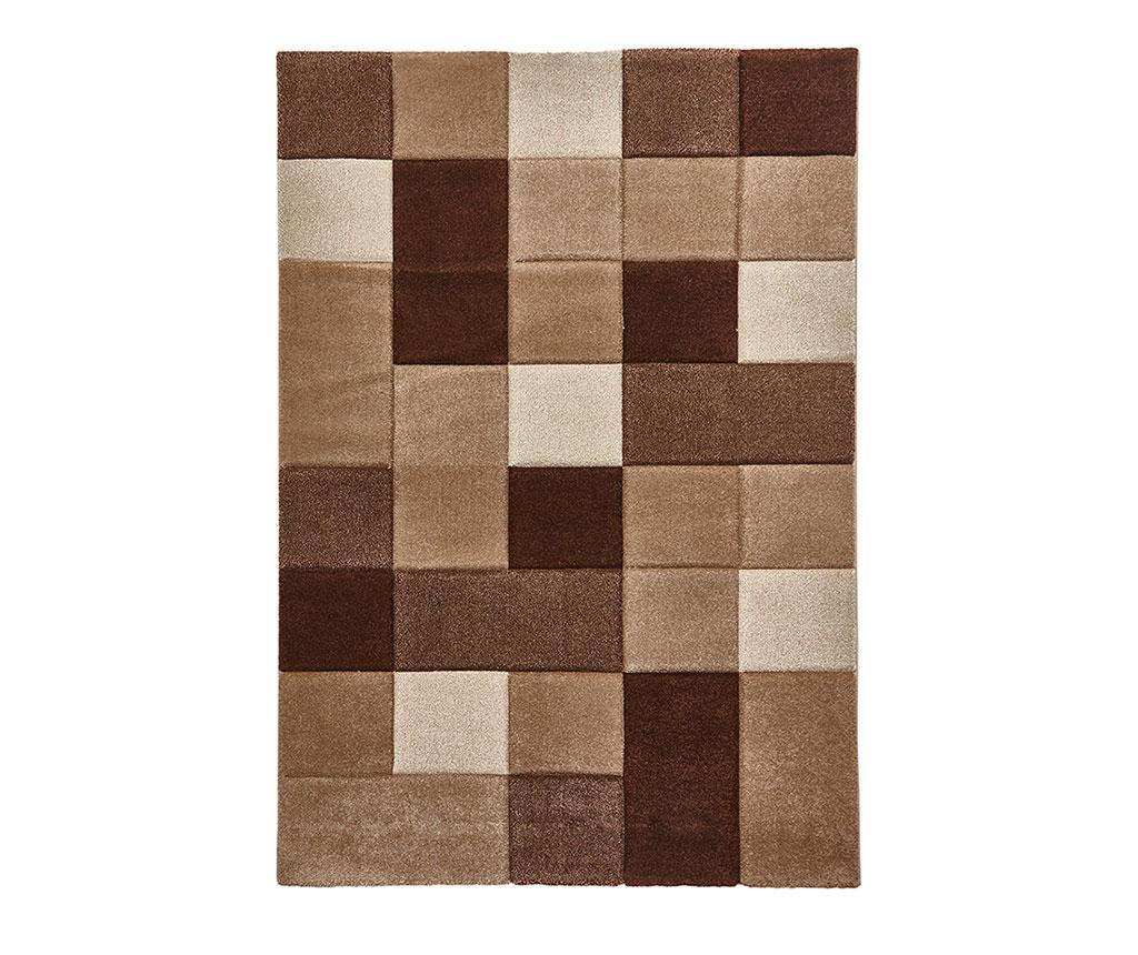 Covor Brooklyn Beige & Brown 160x220 cm