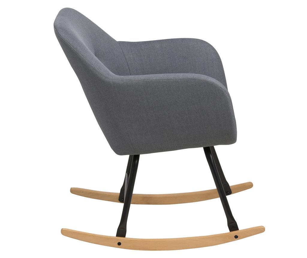 Hojdacia stolička Emilia Plain Grey