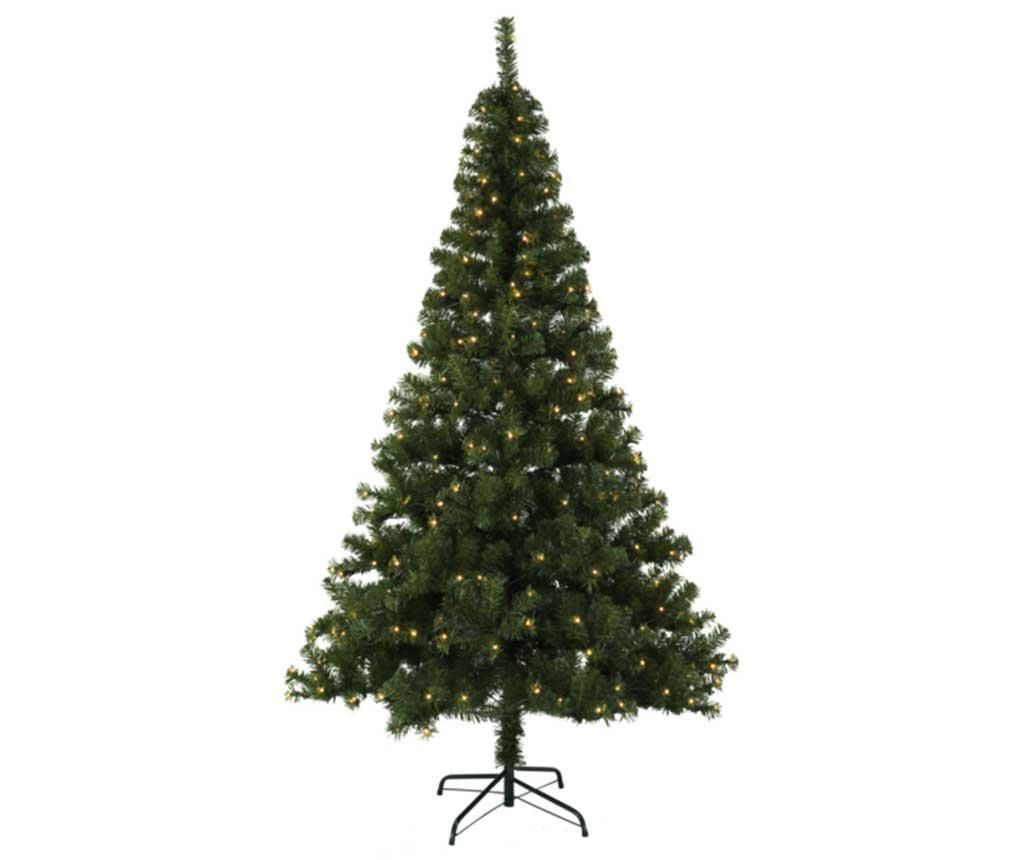 Umělý vánoční stromek s LED diodami do exteriéru Ottawa Green 210 cm