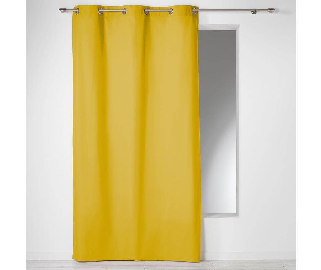 Draperie Panama Yellow 140x280 cm