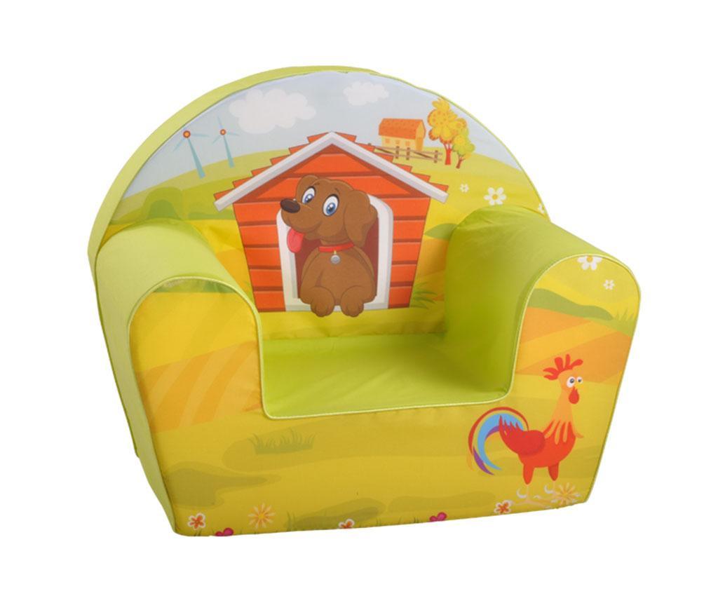 Otroški fotelj Dog on a Farm