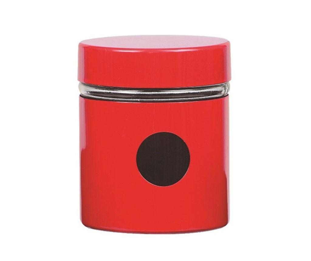Sasha Red Tároló fedővel 300 ml