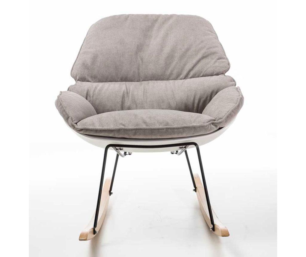 Stolica za ljuljanje Vinyl Light Grey