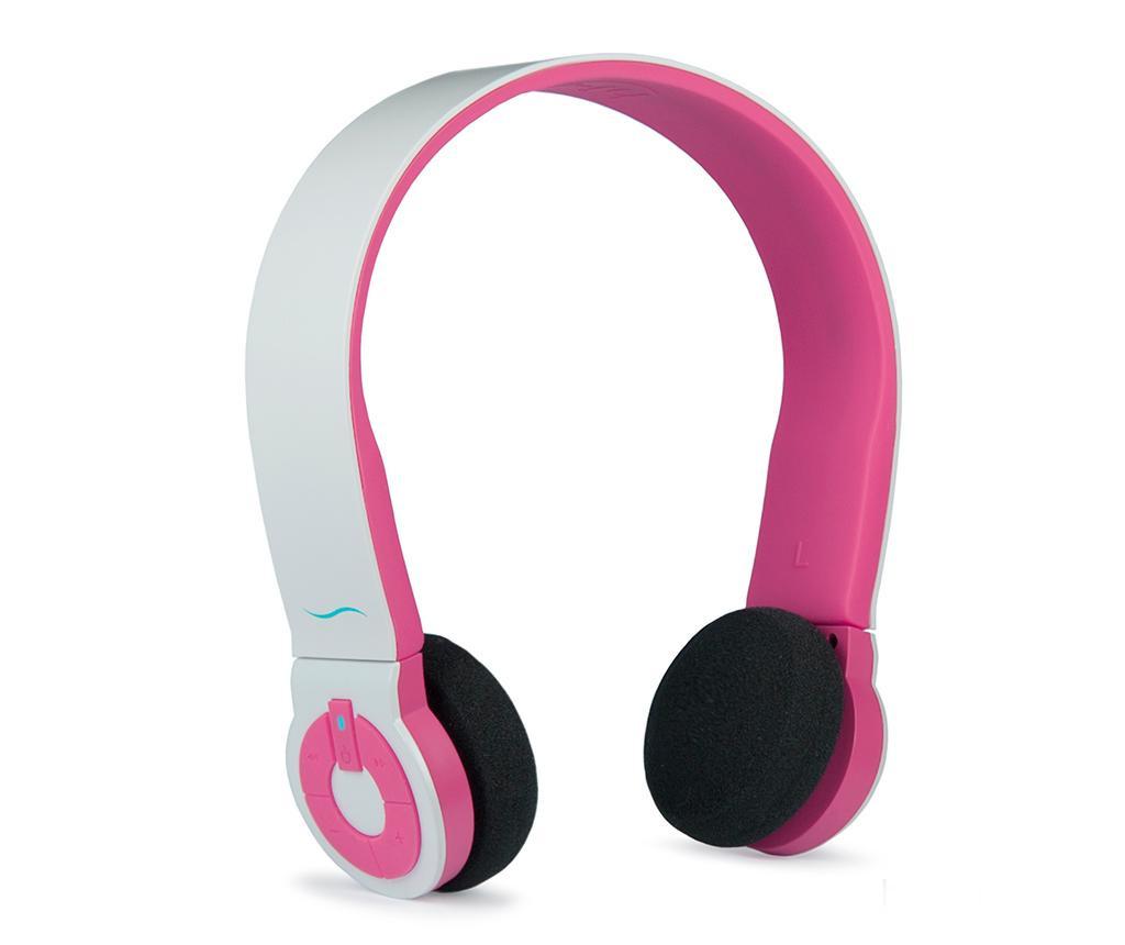 Casti fara fir hi-Edo White Pink