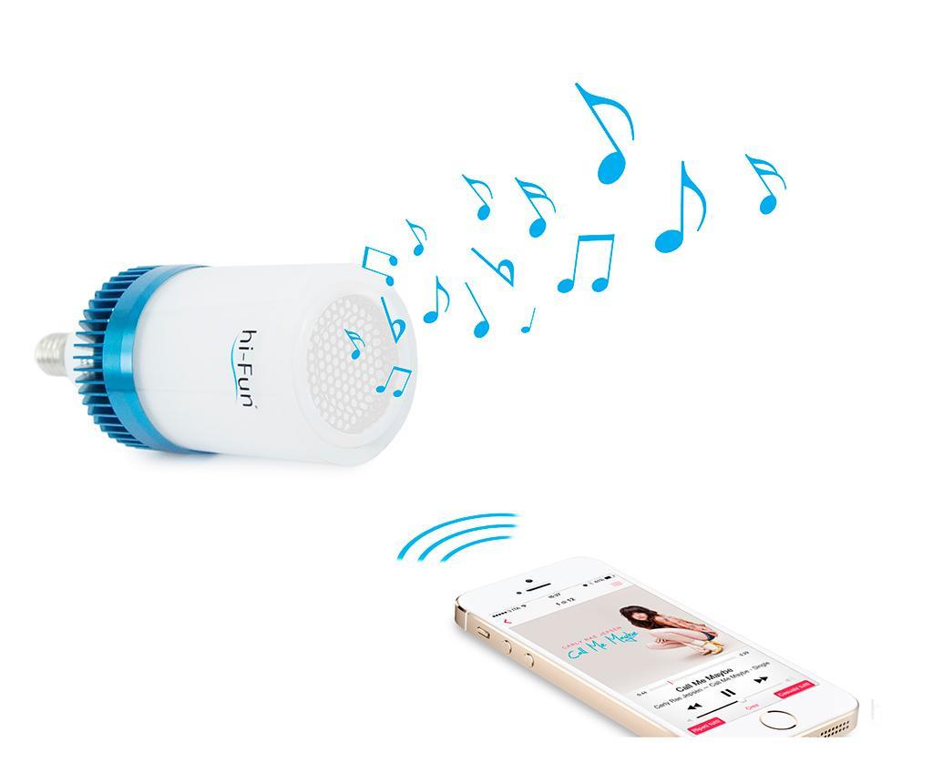 Żarówka LED z głośnikiem hi-Ambient E14