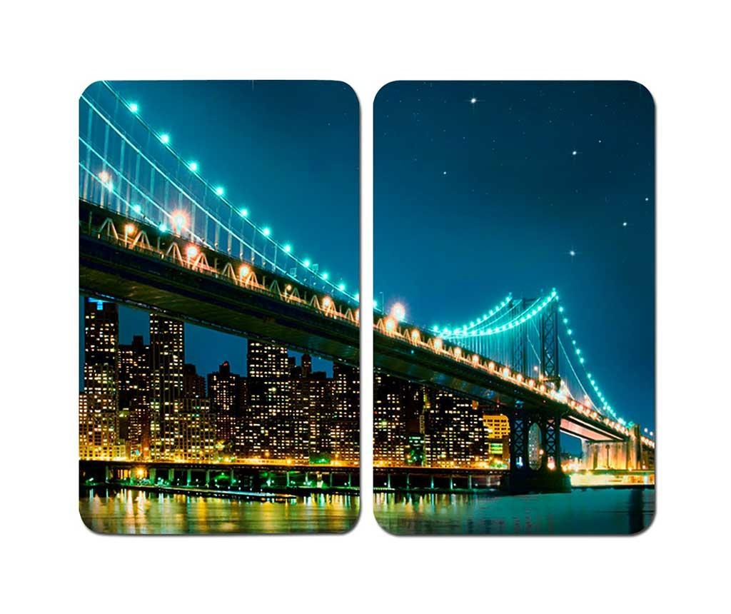 Set 2 plansete protectoare pentru plita Brooklyn Bridge