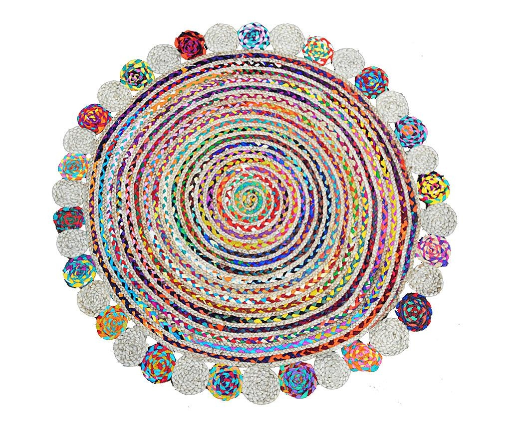 Килим тип черга Roberta Circles 120 см