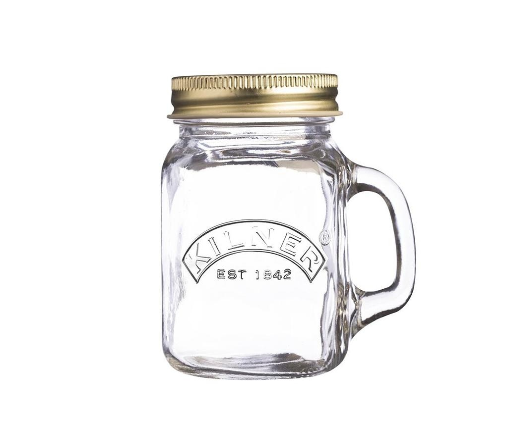 Чаша с капак Mini Jar 140 мл
