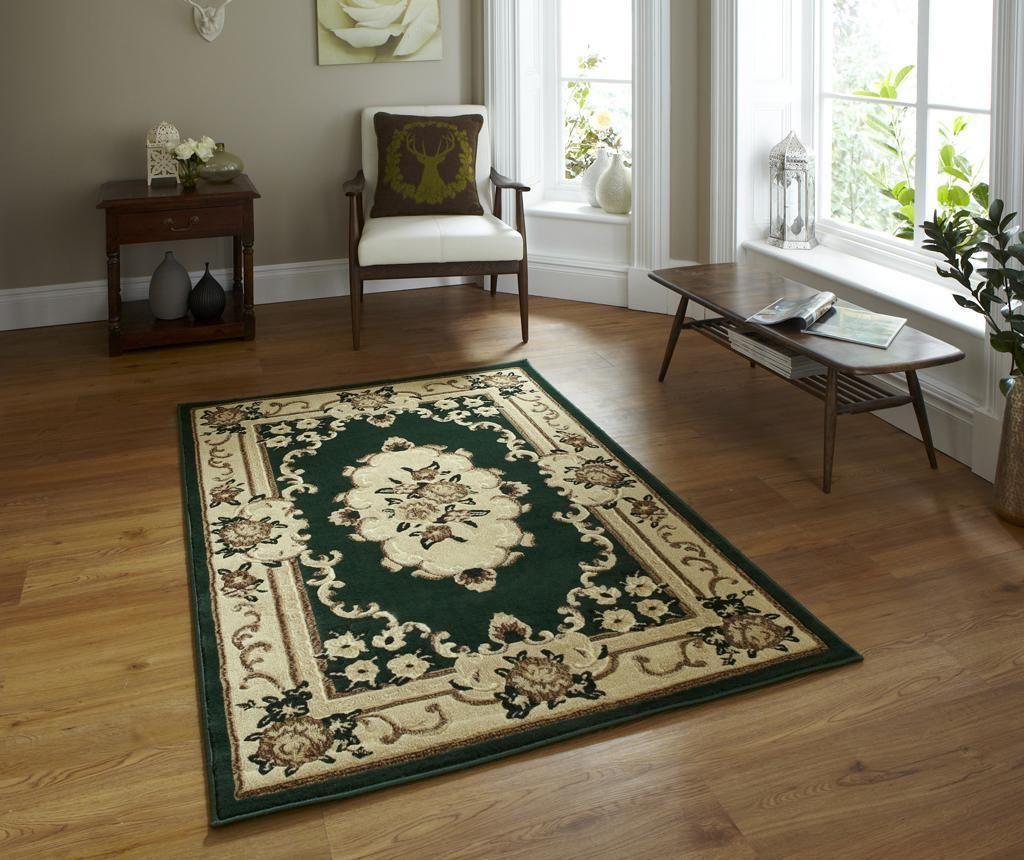 Covor Marrakesh Dark Green 60x105 cm