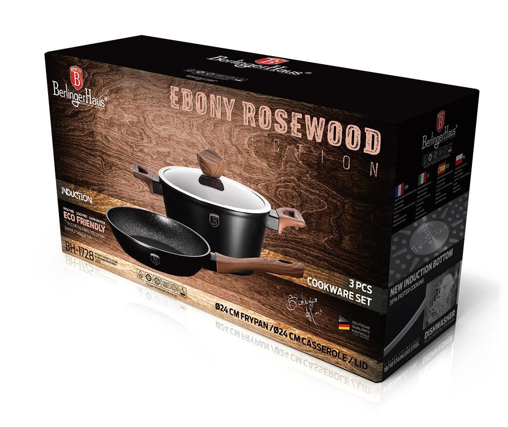 Σετ μαγειρικών σκευών 3 τεμάχια Ebony Rosewood