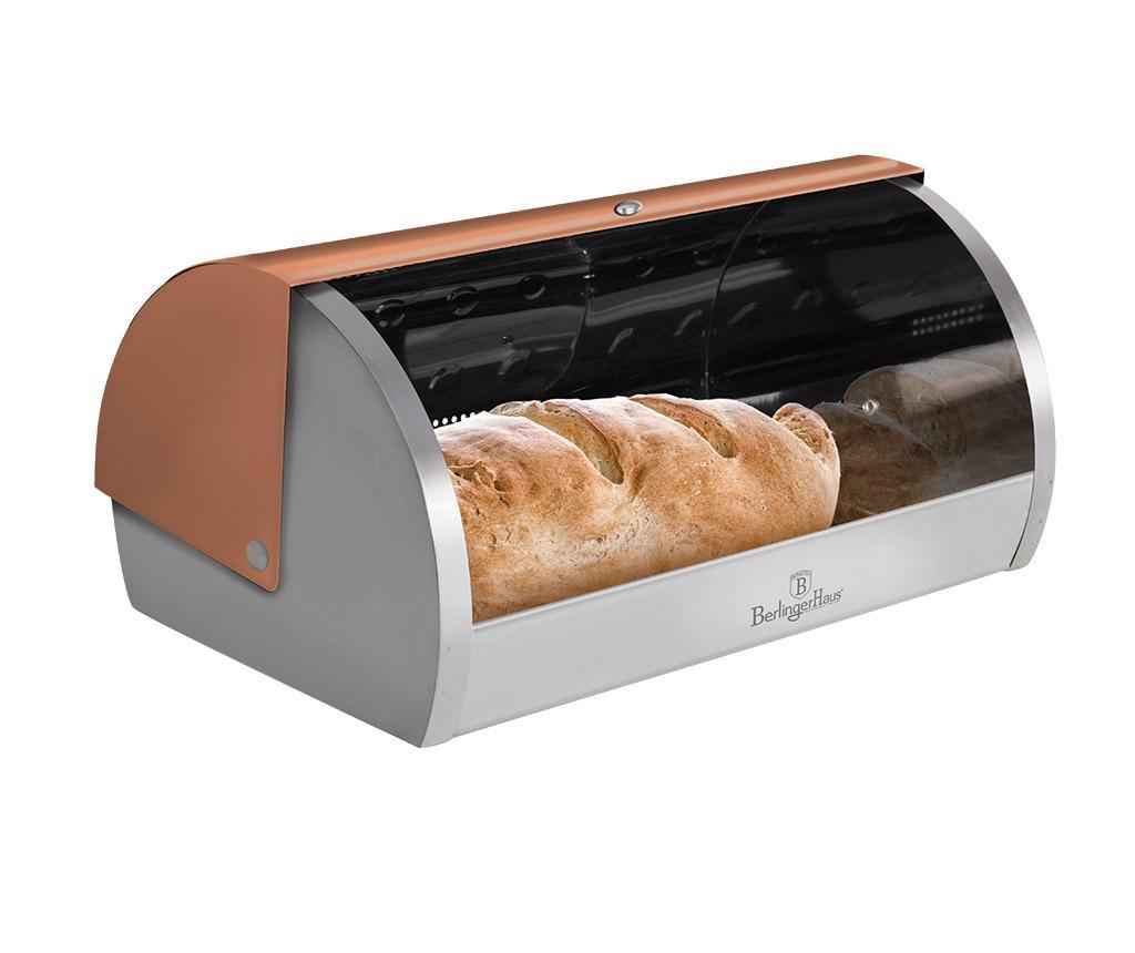 Kutija za kruh Metallic Gold