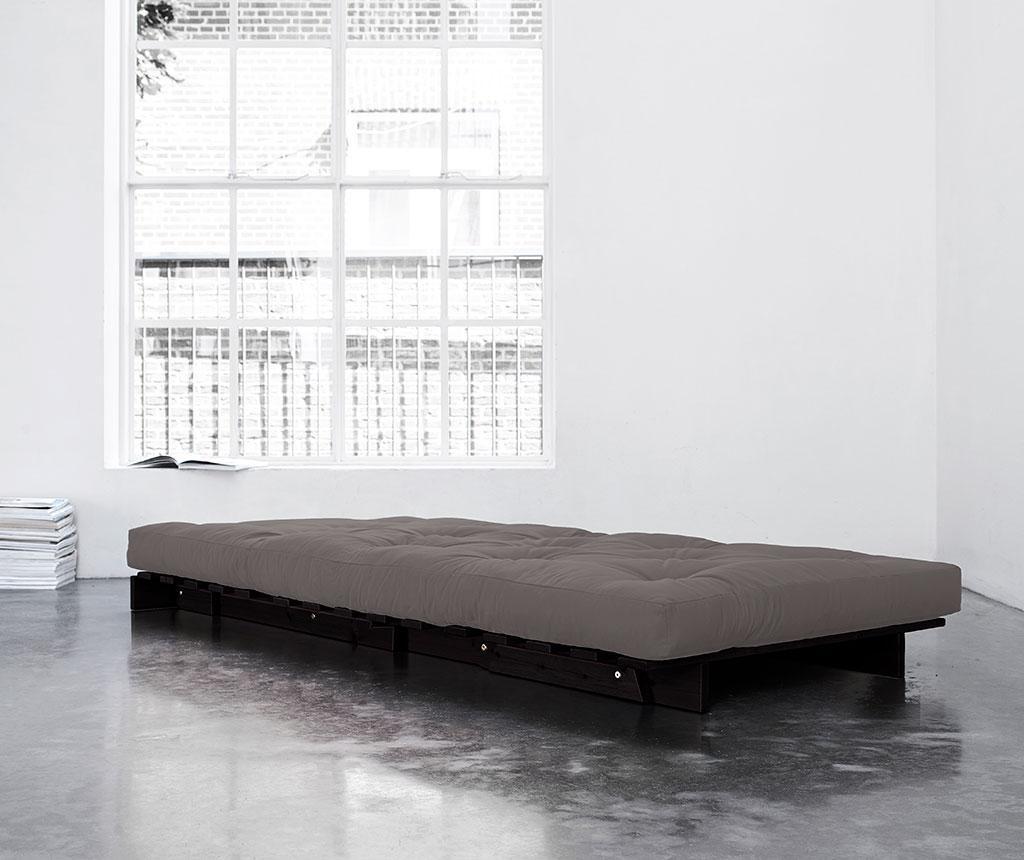 Sofa extensibila Roots Wenge and Granite Grey