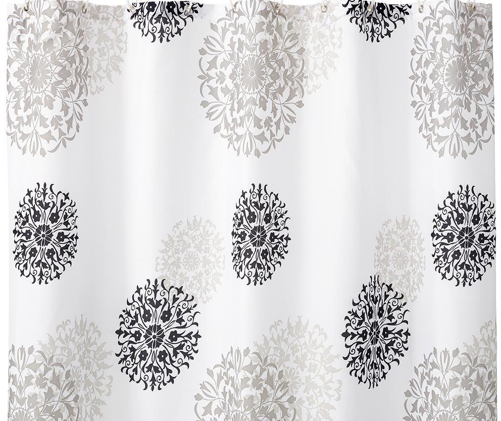 Załona prysznicowa Mandala 180x200 cm