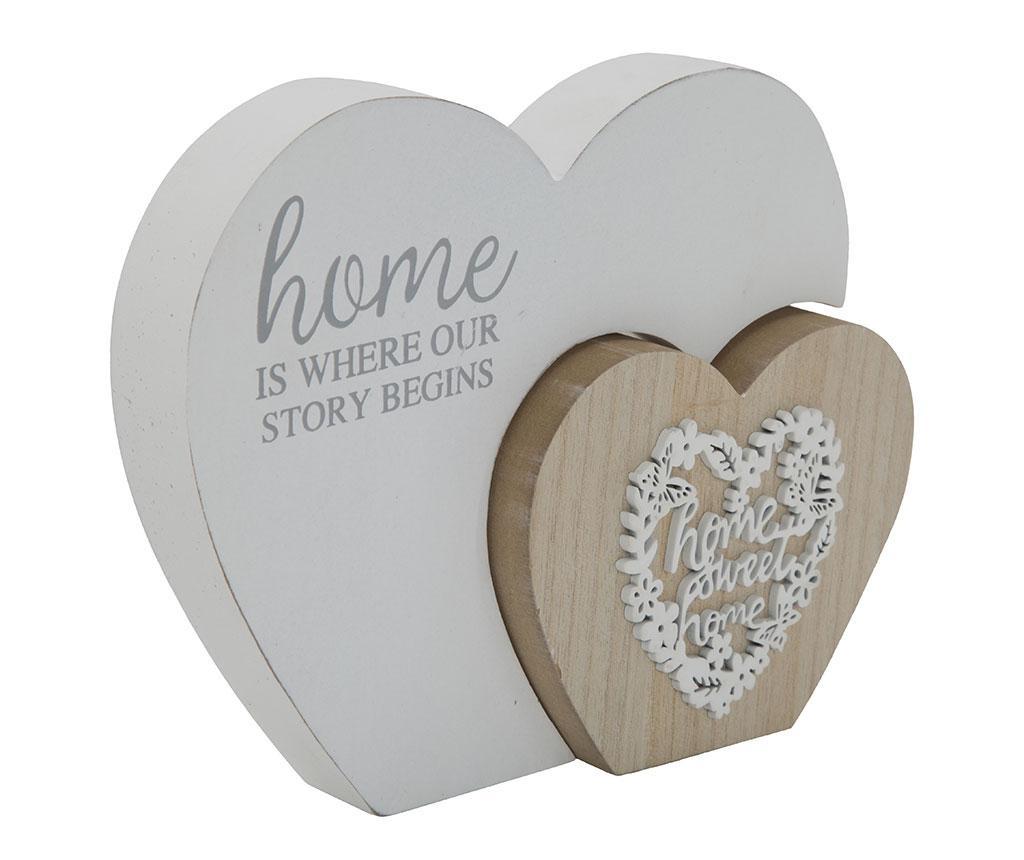 Decoratiune Wooden Hearts
