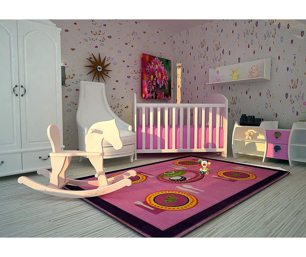 Table Pink Szőnyeg 100x150 cm