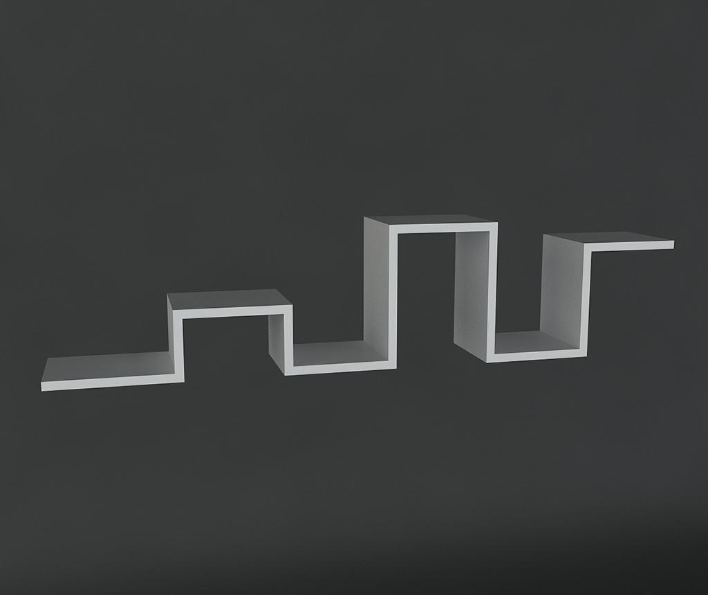Raft de perete Bumpy White
