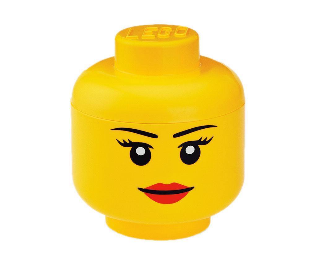 Lego Pretty Girl Doboz fedővel S