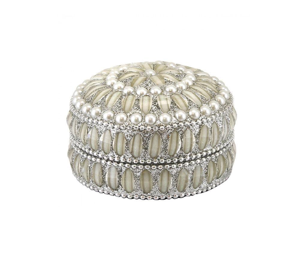 Cutie pentru bijuterii Silver Pearls