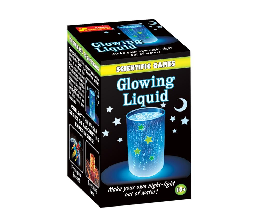 Glowing Liquid Oktató játék