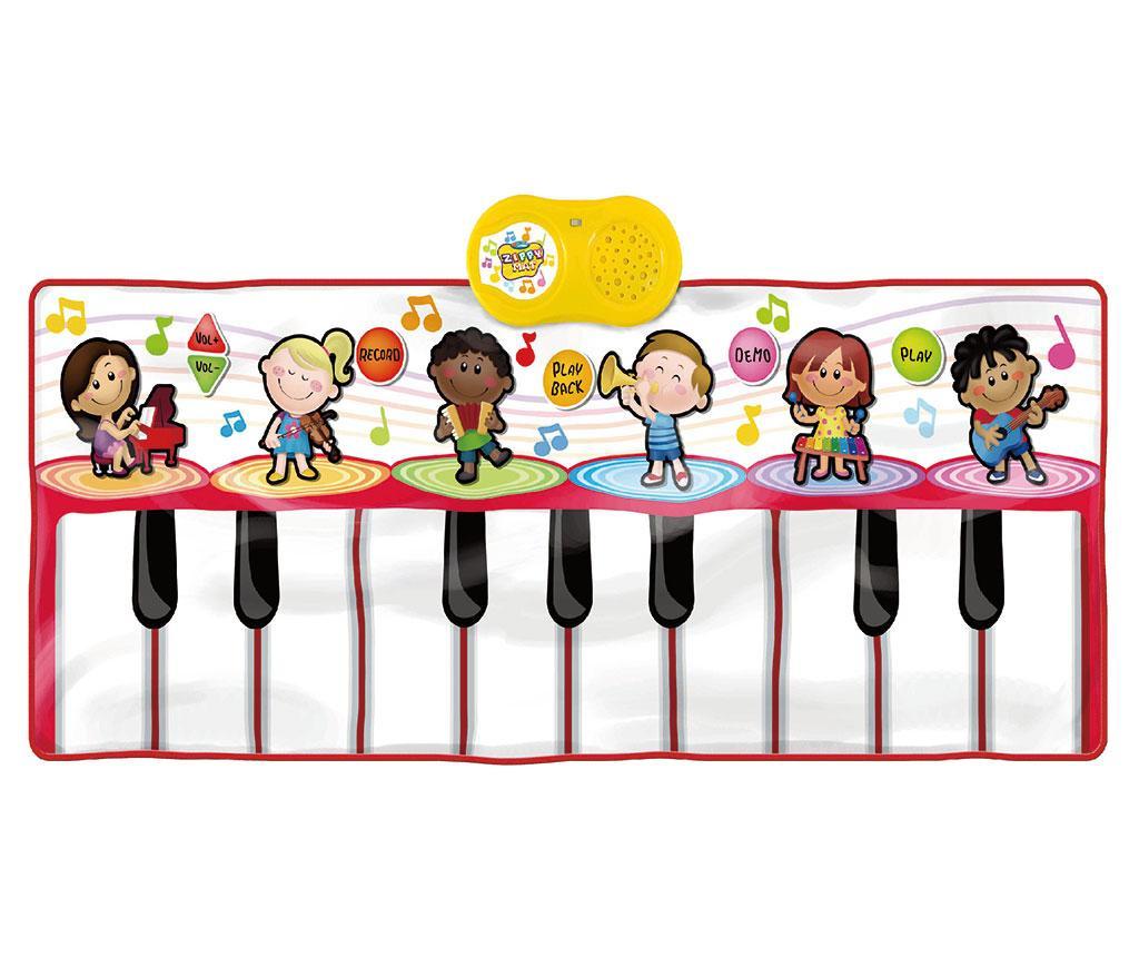 Hudobný koberček s aktivitami Piano Orchestra 46x120 cm