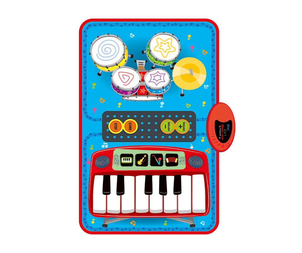 Covor muzical cu activitati Mini 2in1 Music Jam 45x70 cm