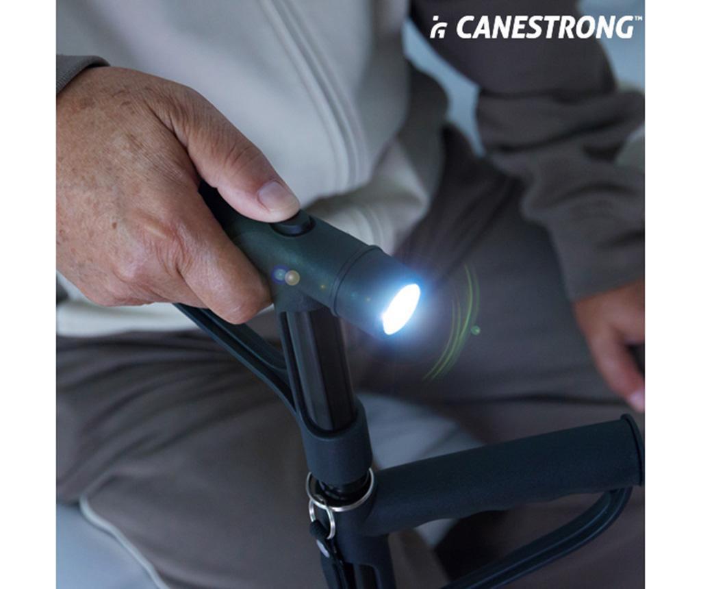 Dvostruki štap s  LED svjetlom Canestrong