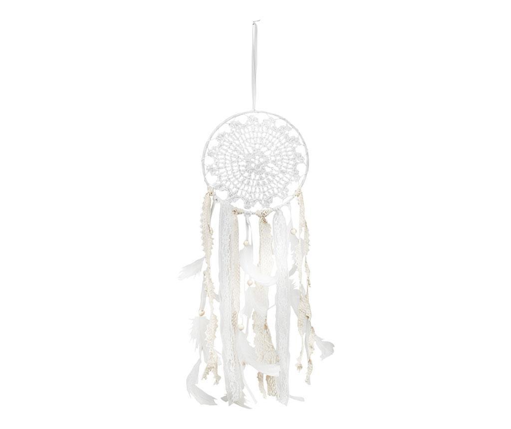 Dream Catcher White Feathers Felfüggeszthető dekoráció