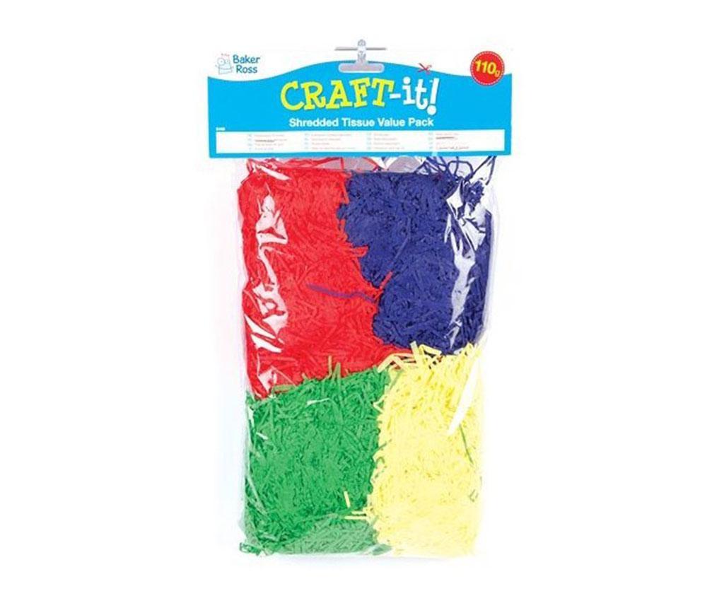 Craft Színes papírcsíkok 110 g