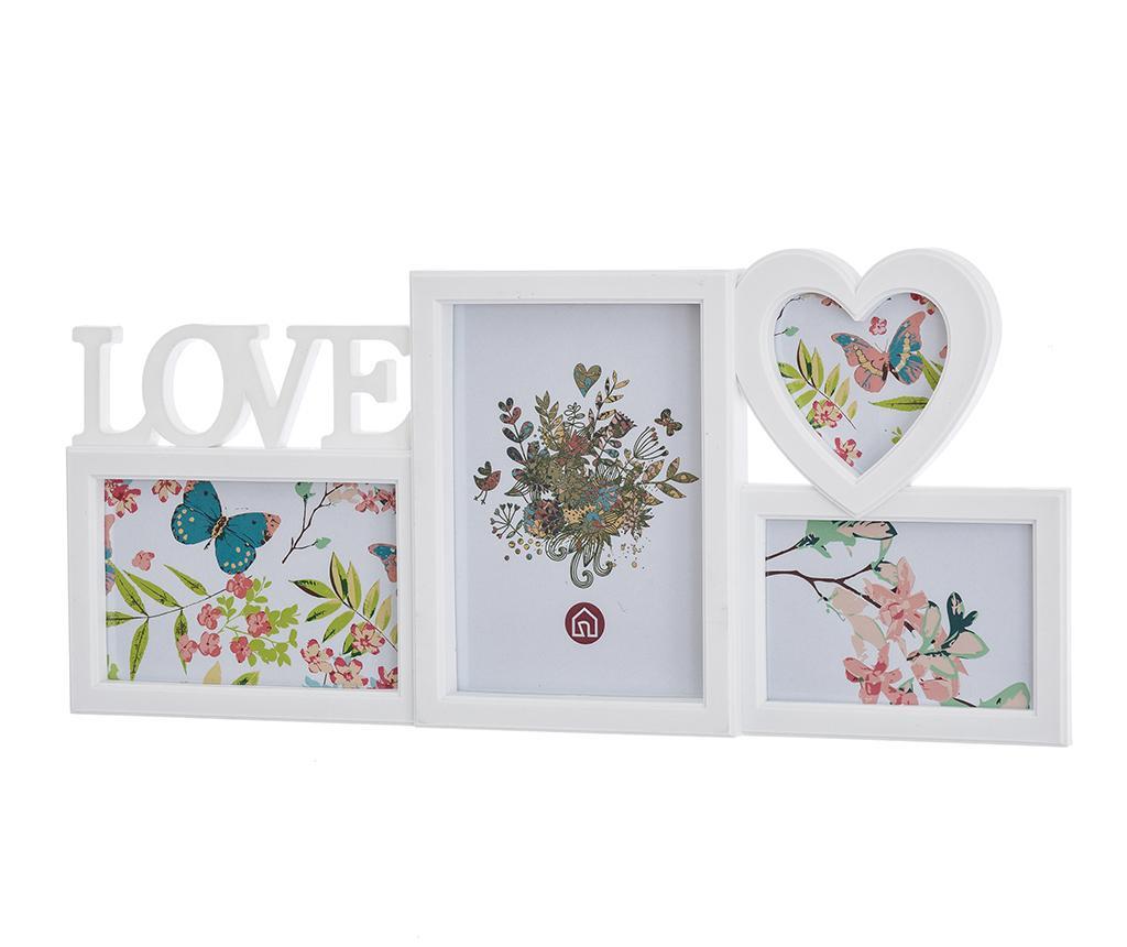 Okvir za 4 fotografije Love