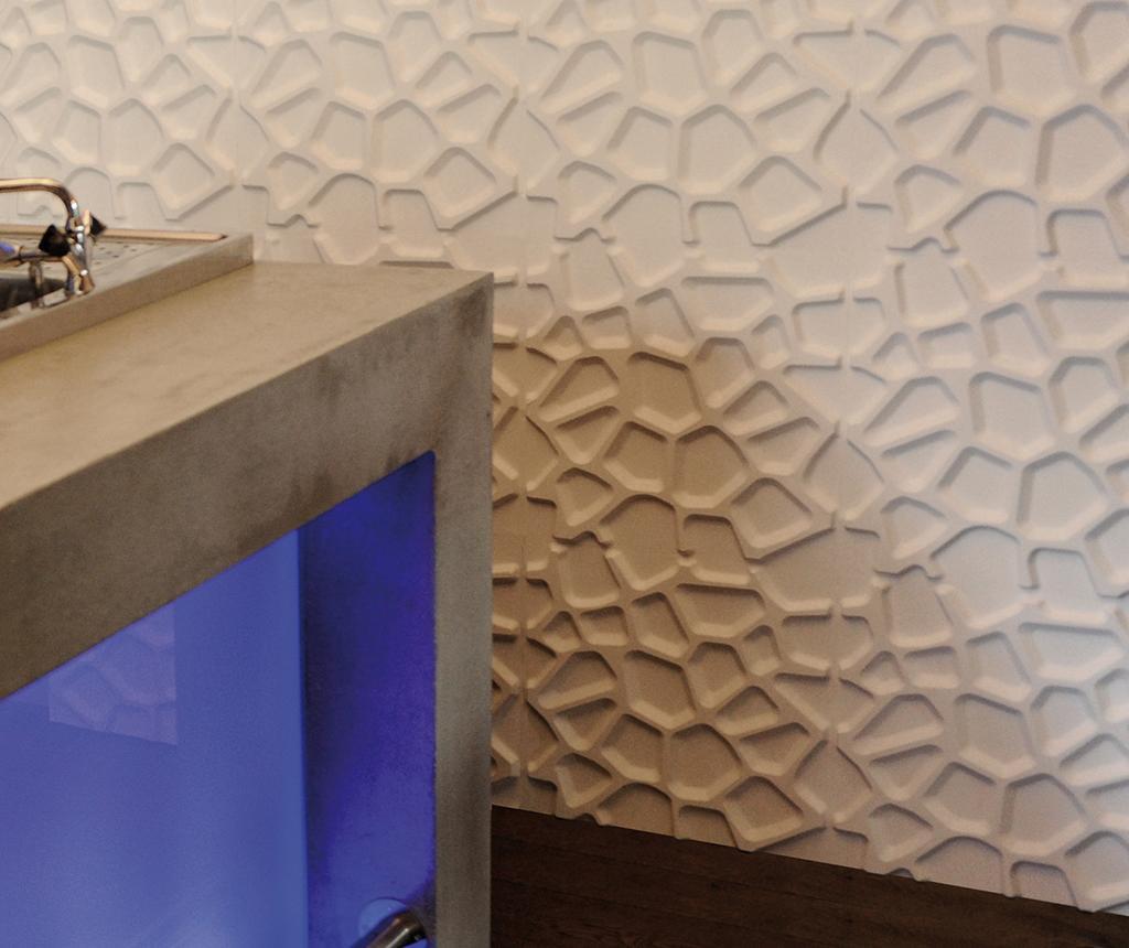 Set 12 ukrasnih panela 3D Gaps