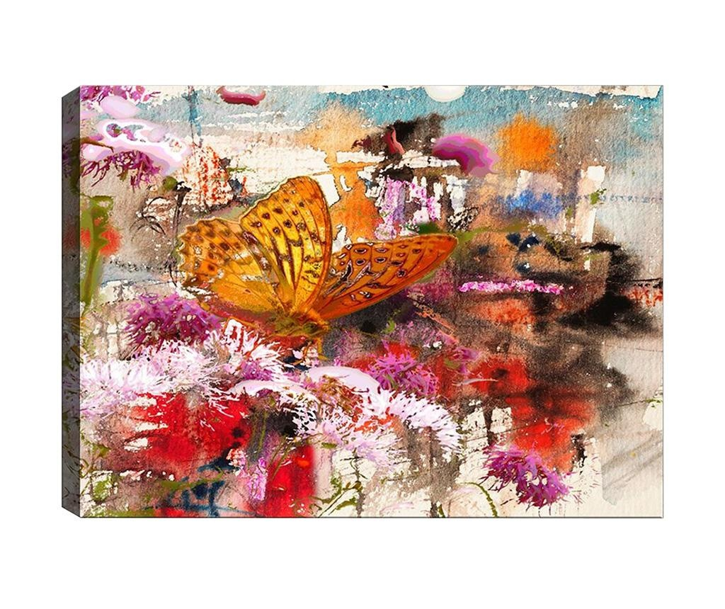 Tablou Abstract Butterfly 40x60 cm
