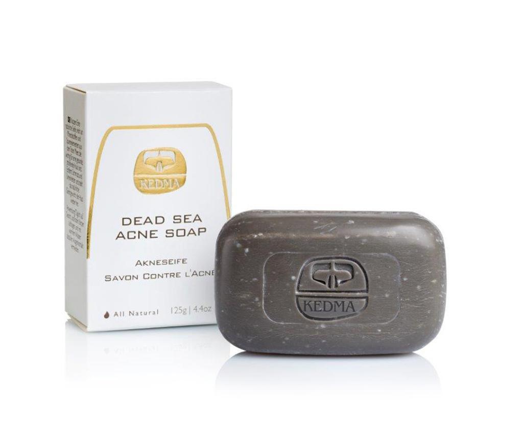 Sapun antiacneic pentru fata Kedma Dead Sea 125 g