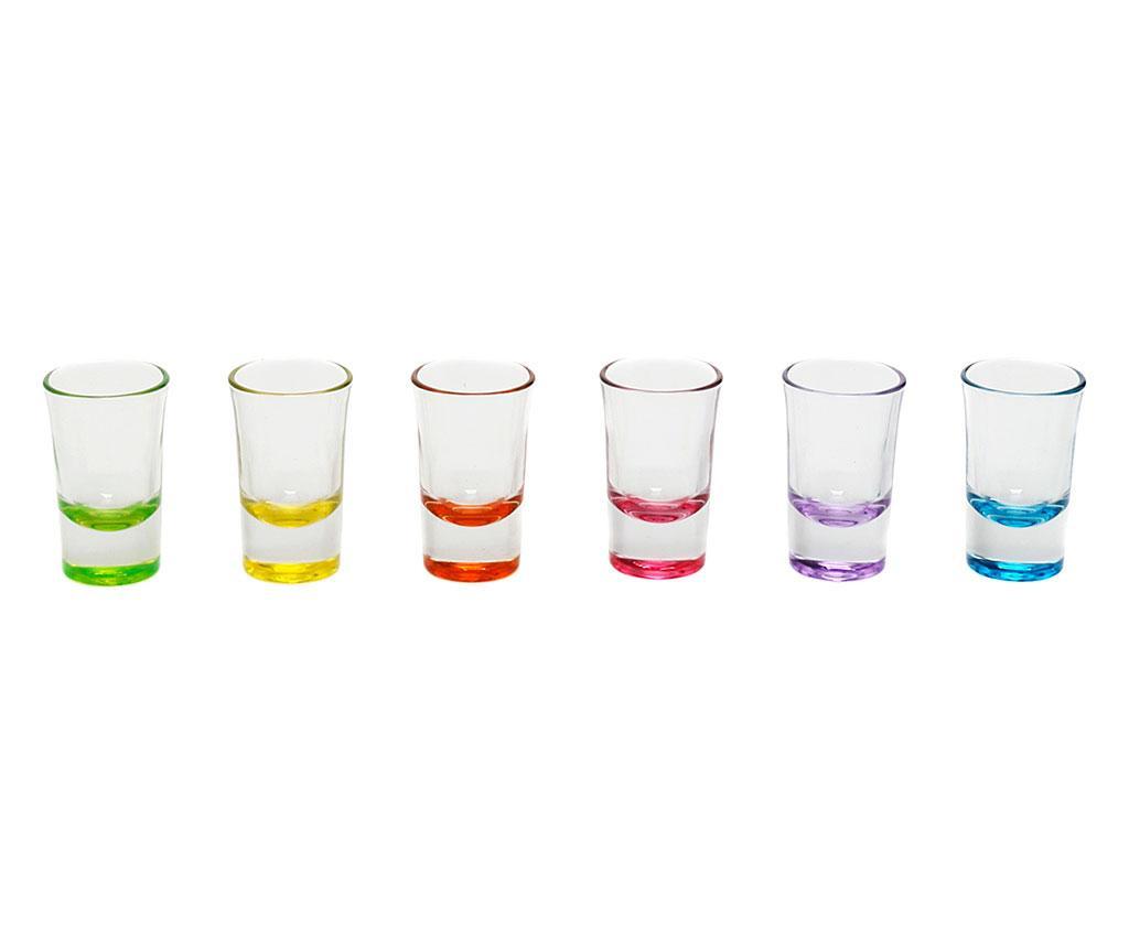 Set 6 pahare pentru shot Norah 140 ml