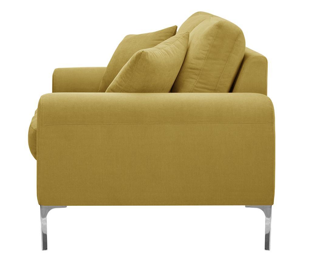 Dillinger Yellow Háromszemélyes Kanapé