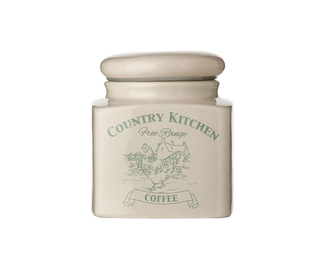Recipient cu capac pentru cafea Country Kitchen